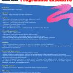 Programme Executive